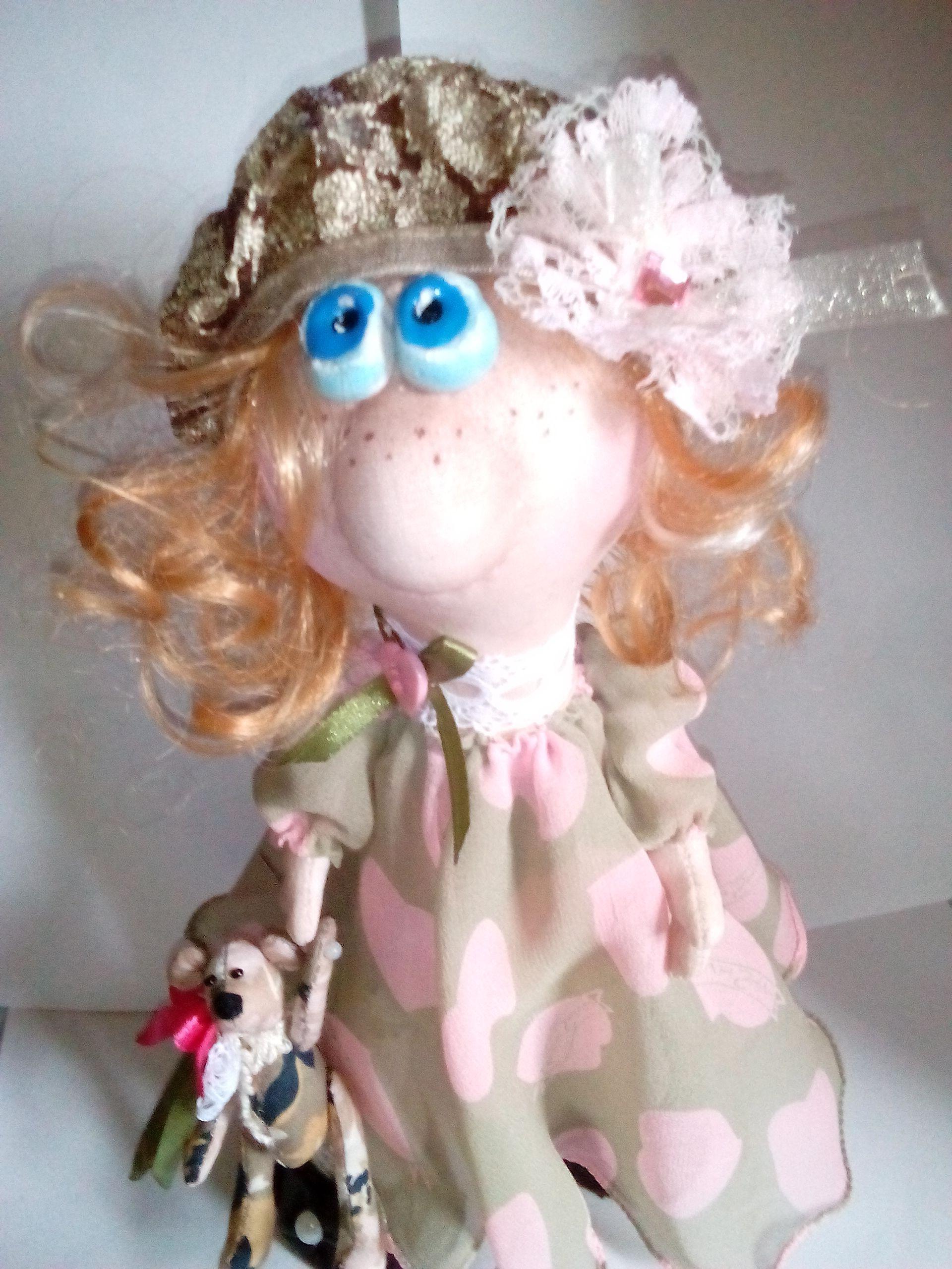 handmade doll toy gift angel kids