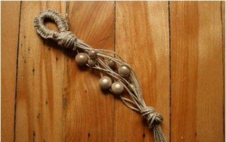 сostume hemp pearls jewelry necklace make