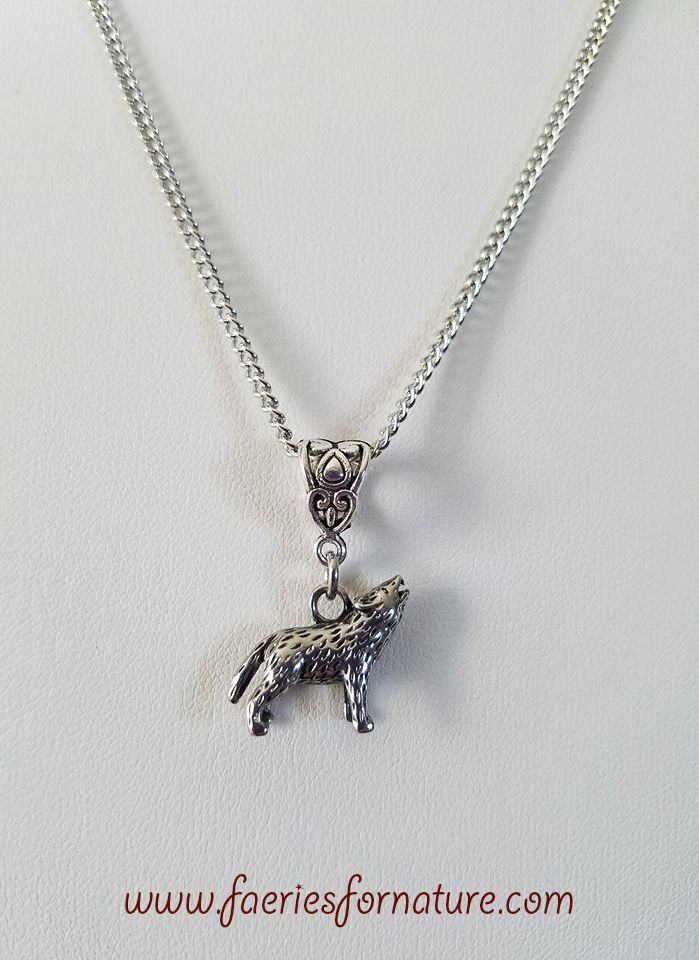 Wolf necklacewolf pendantsilver wolf charm necklaceanimal jewelry wolf necklacewolf pendantsilver wolf charm necklaceanimal jewelrybohemian jewelrycreature pendantgift for hergift for him aloadofball Choice Image
