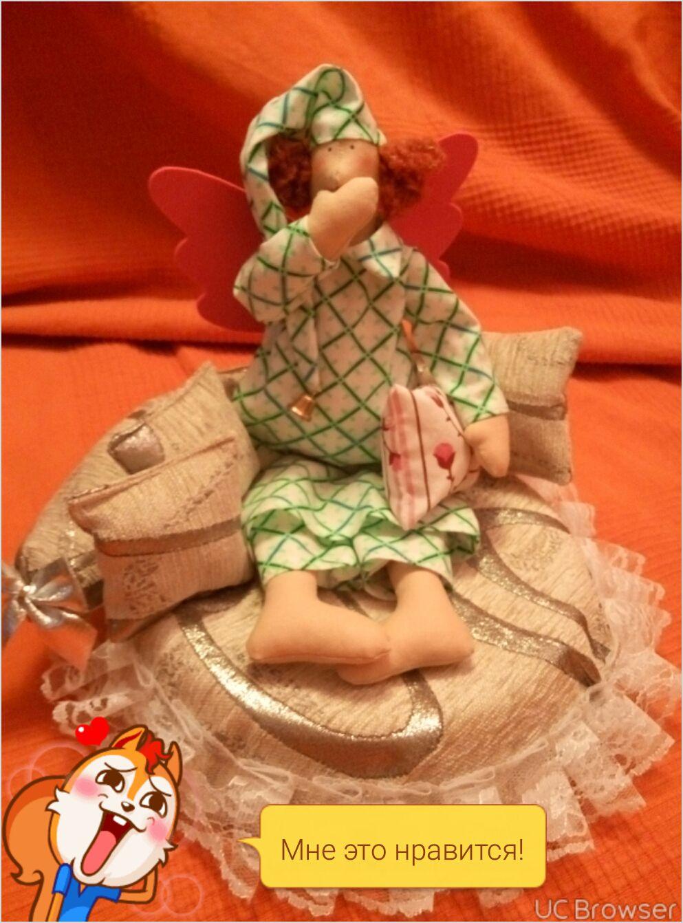 toy textile handmade sleepyhead