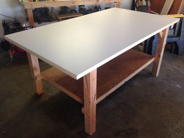 make wood workbench strong frame