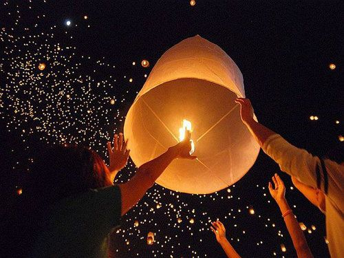 unusual chinese sky lantern make lovely