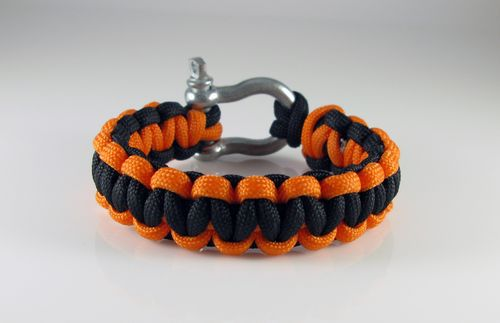 paracord bracelet make string weave