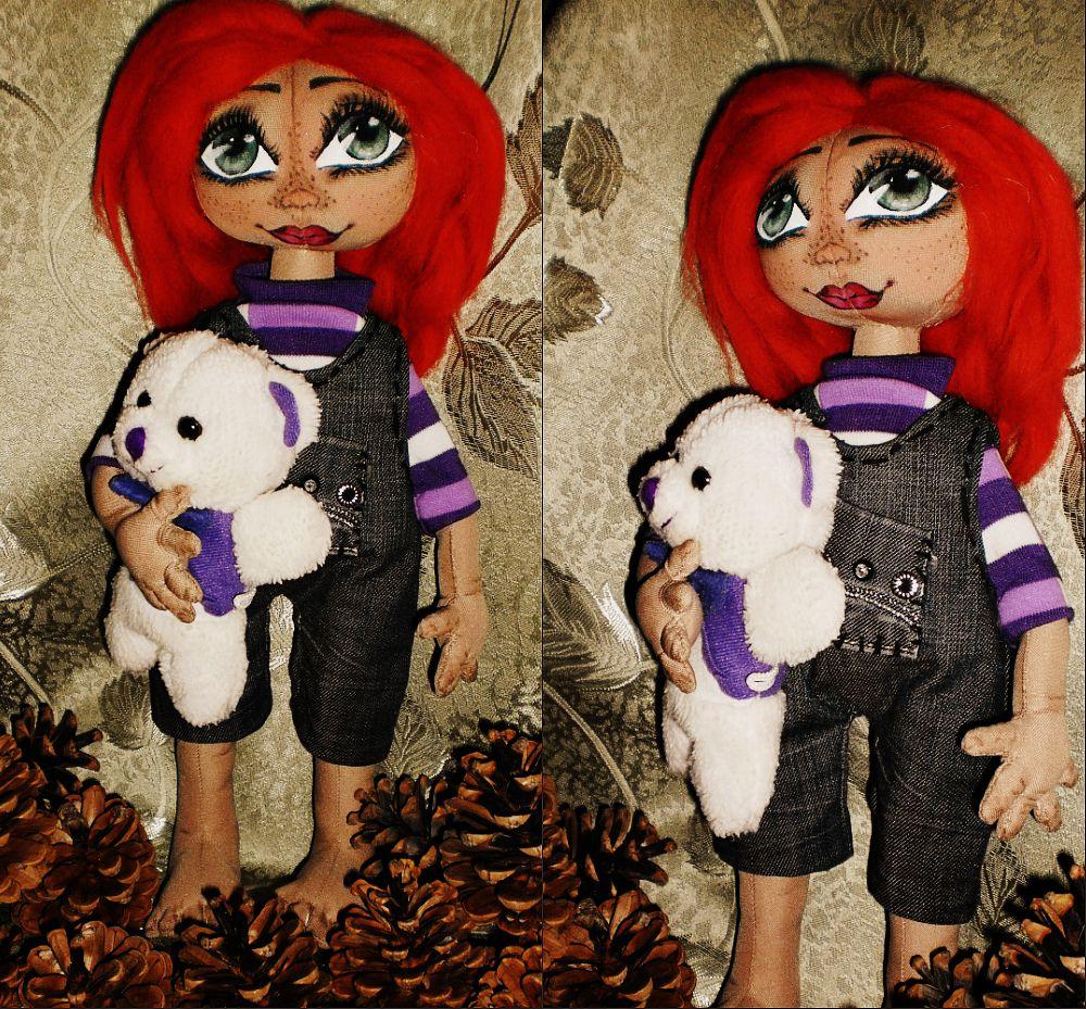 handmade doll toy interior ginger