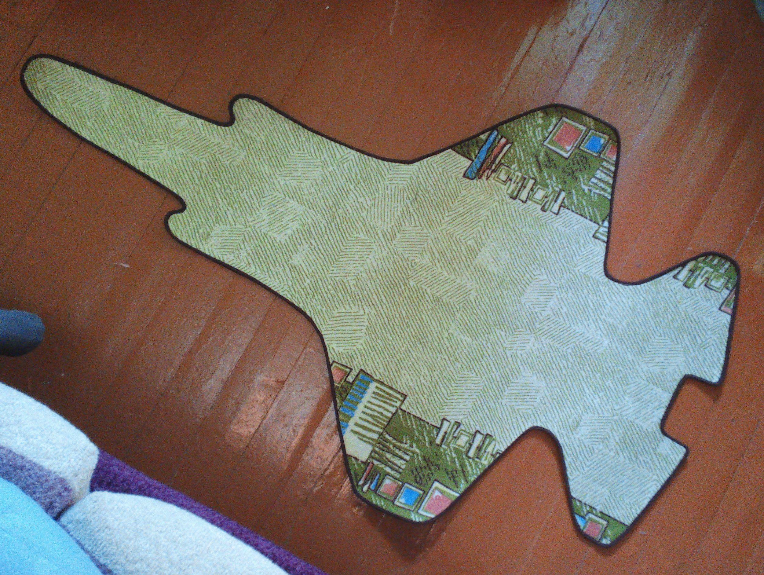 magic interior carpet plane