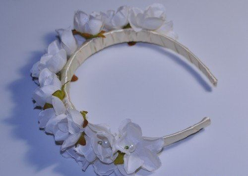 make accessories flowers headbands homemade