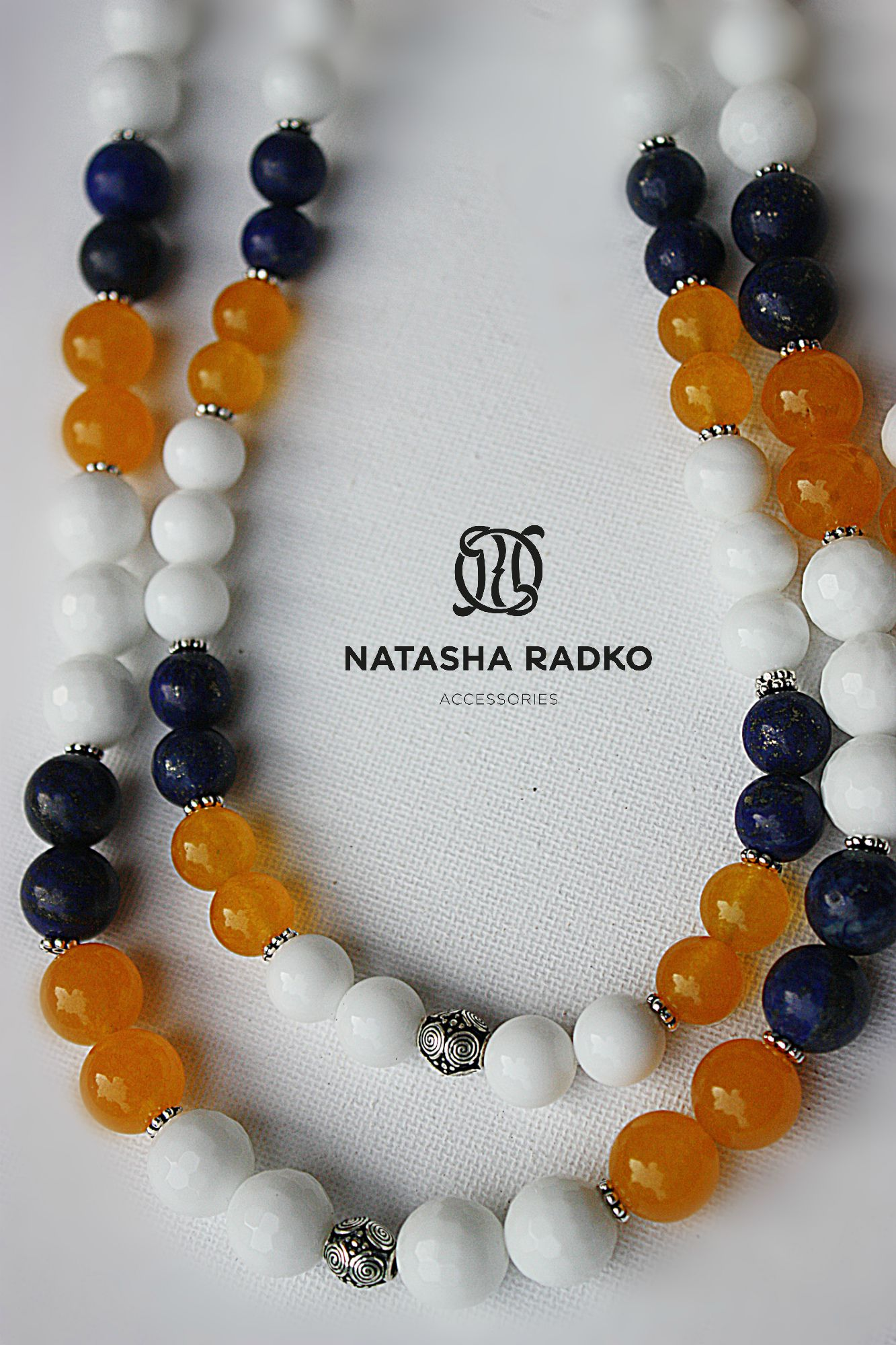 handmade set silver agate lazuli jade jewelry