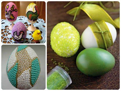 holidays eggs beaded easter make