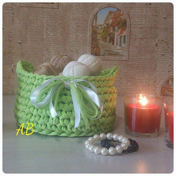 gift knit giftforwomen interiorbasket knittedbasket handmade basket handmadegift originalgift