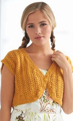 knitted kids_wardrobe bolero