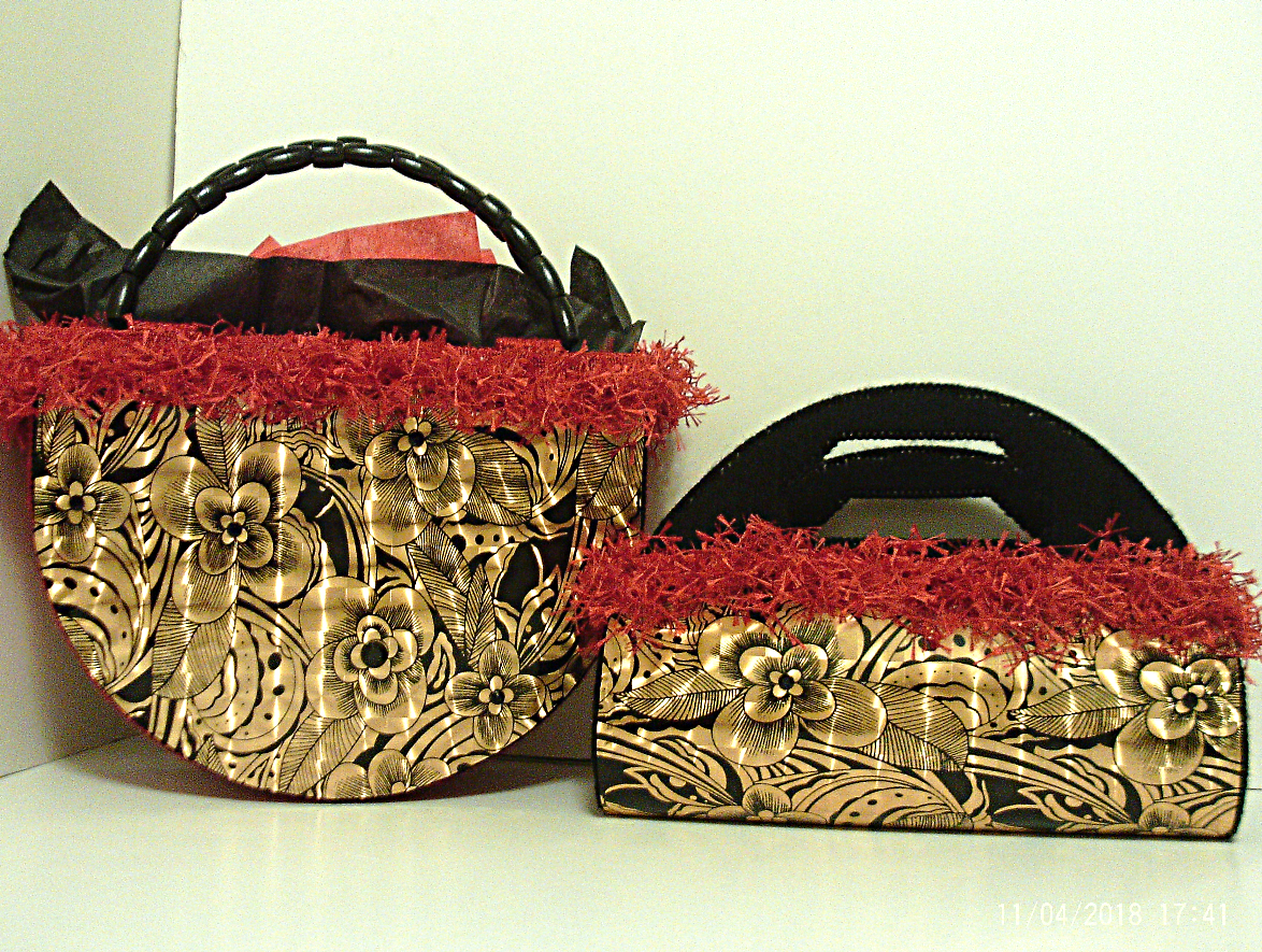 unique tote fashionable exotic handbag stylish elegant