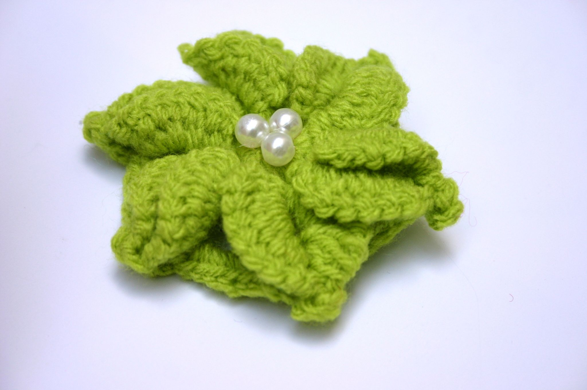 handmae cotton vintage brooch boho crochet accessory jewelry handmade