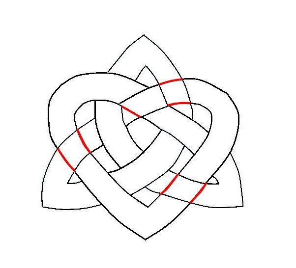 knots celtic draw steps art