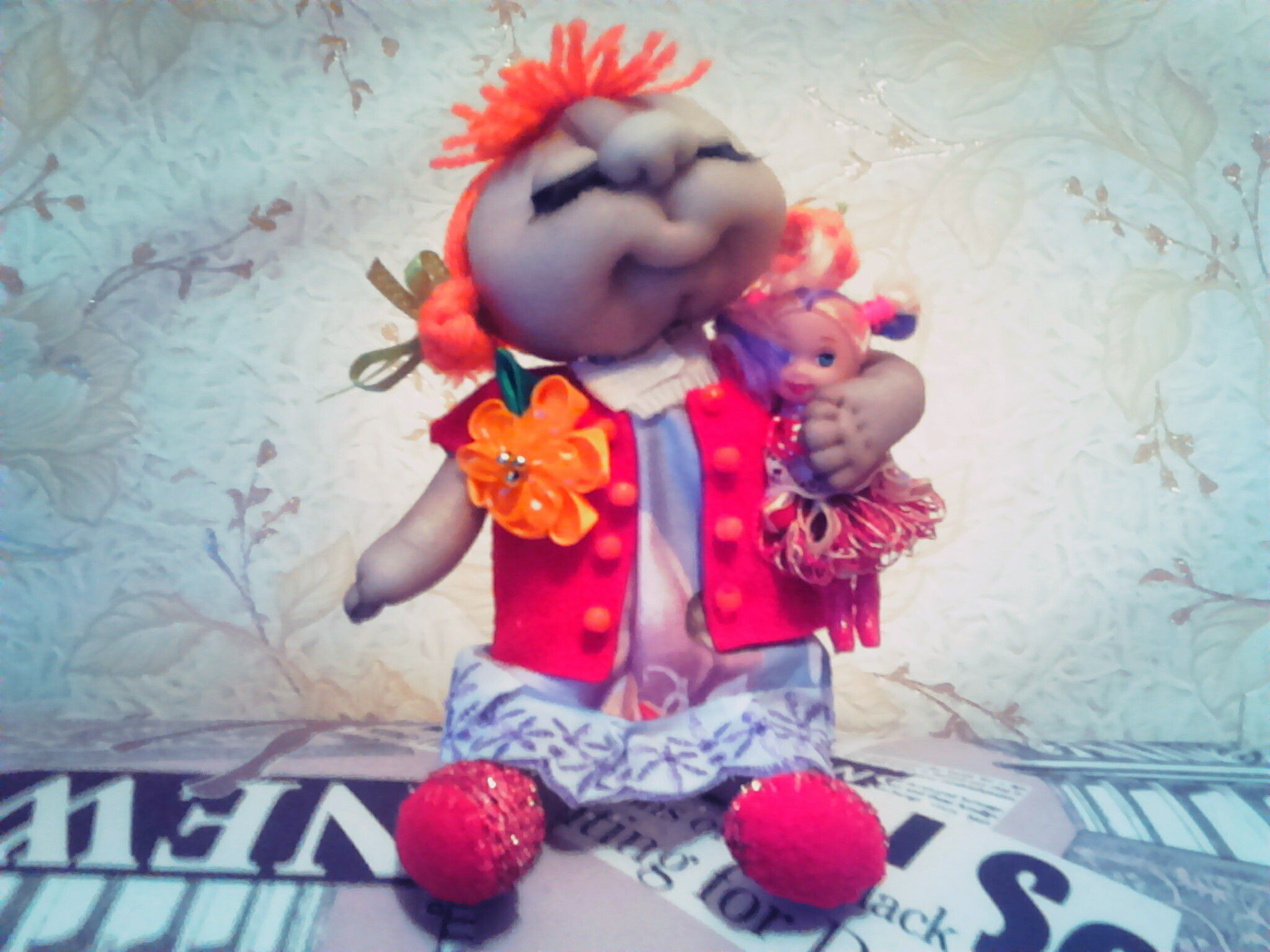 handmade toys dolls kapron