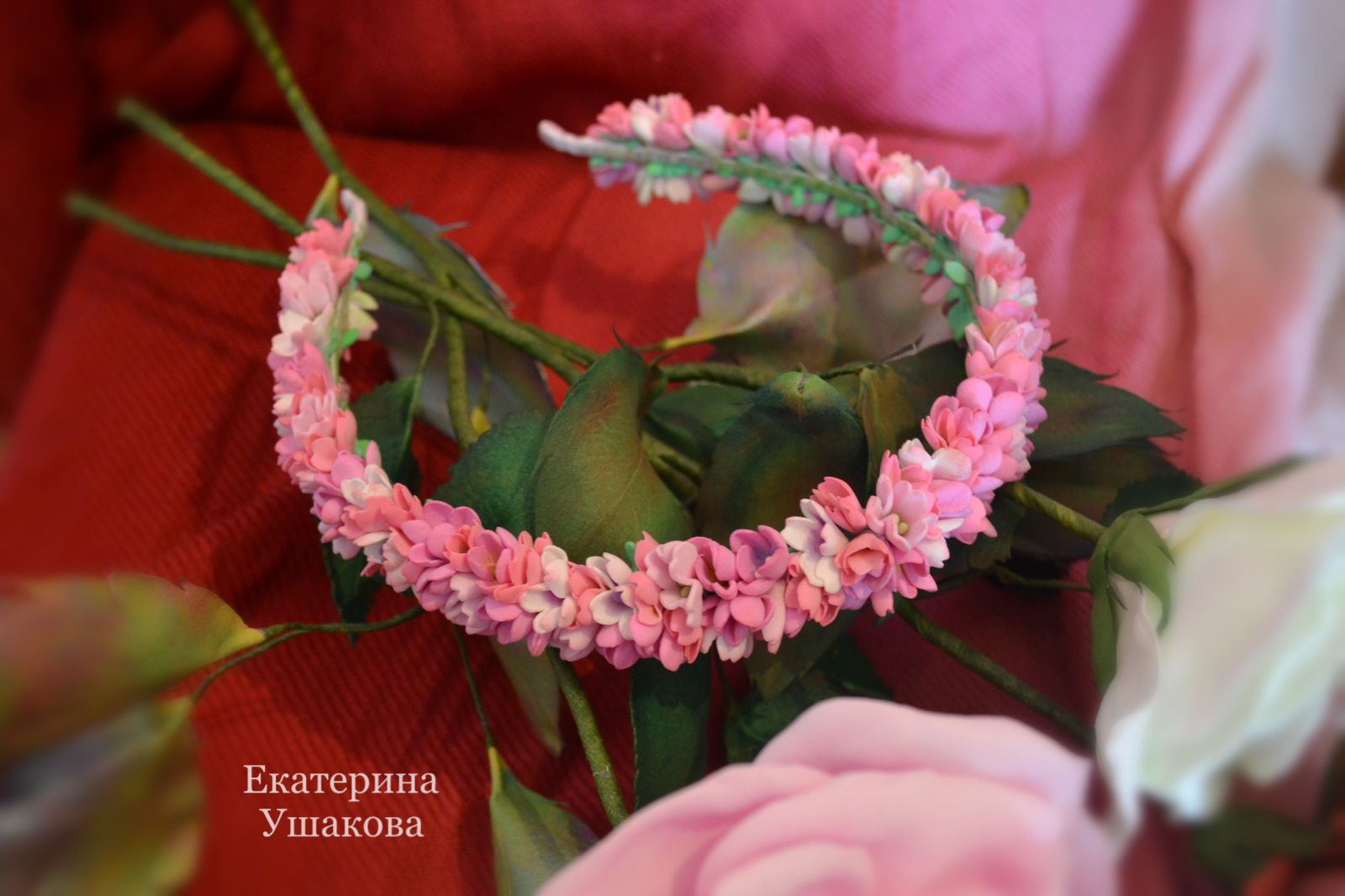 handmade headband flowers women