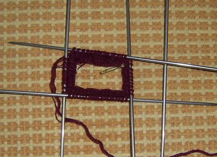 goods textile knit needles gloves