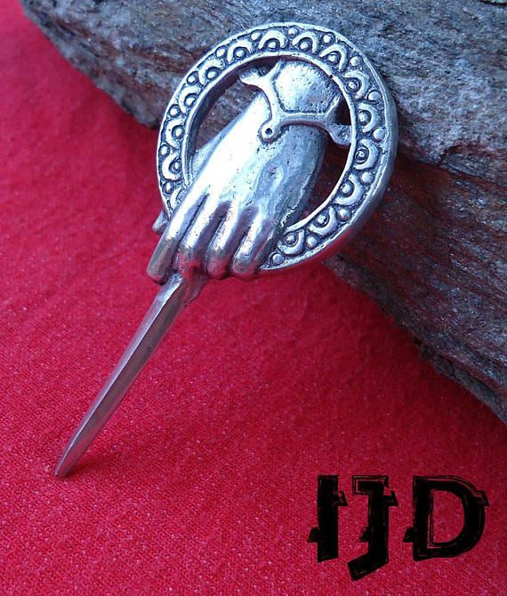 medieval lanister the tyrion hand game thrones lannister brooch pin king stark jewelry got tywin