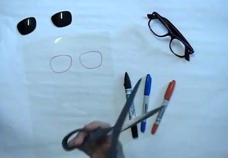 glasses stereo unusual 3d make