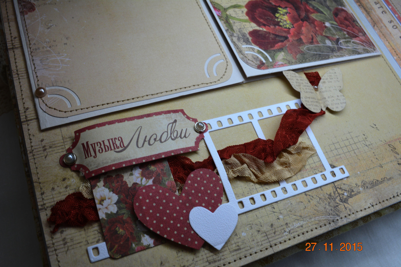 wedding gift rose photo album