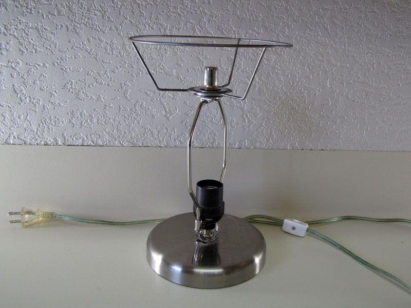 lampshade ear decor tin lamp
