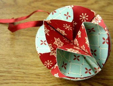 make tissue paper balls crafts