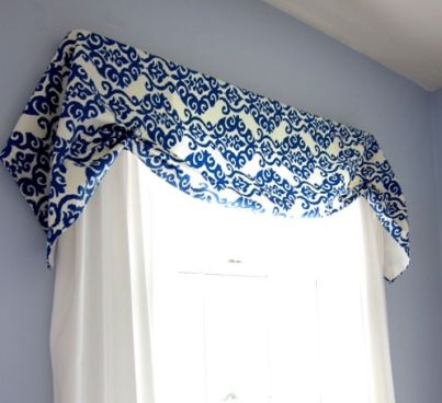 gradually valance sew decor curtains