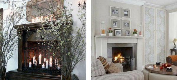 fireplace decorate interior house make