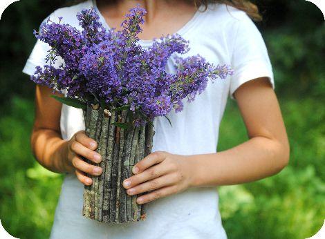 flowers brushwood ecovase decor woodenvase decoration interior diy twigs vase sticks ecostyle handicraft