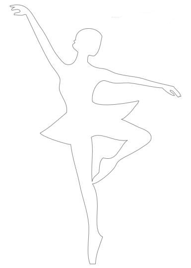 ballerina crafts decorations paper make