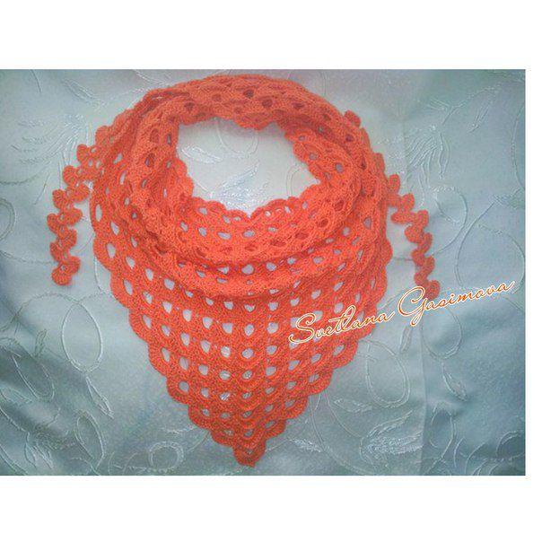 scarf calendula baktus headscarf neck