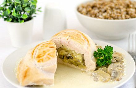 breast stuffed cookery cook chicken
