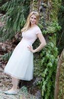 tulle skirt materials make clothing