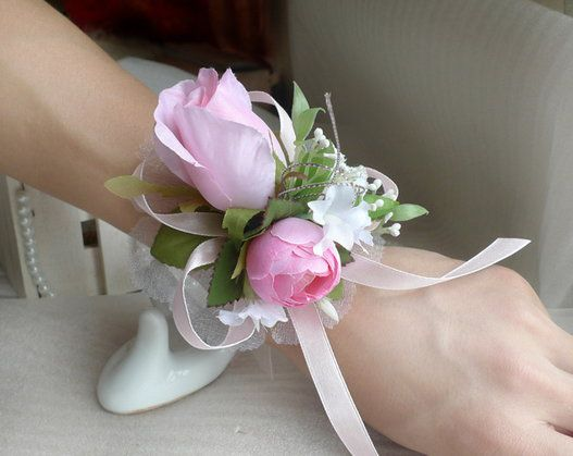 accessories corsage wrist make flower