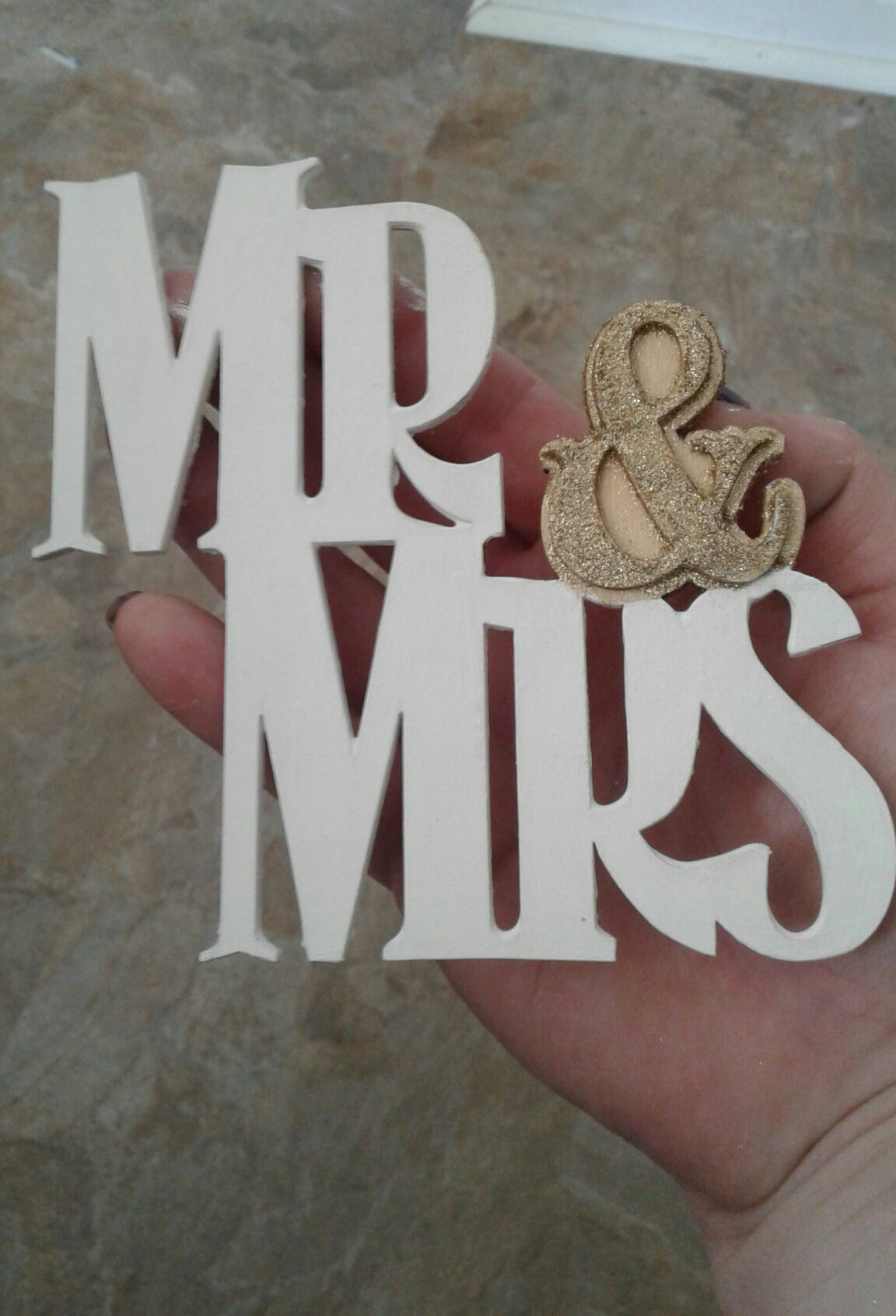 hand wedding decor and table small decorations mrs sign painted sweetheart signs