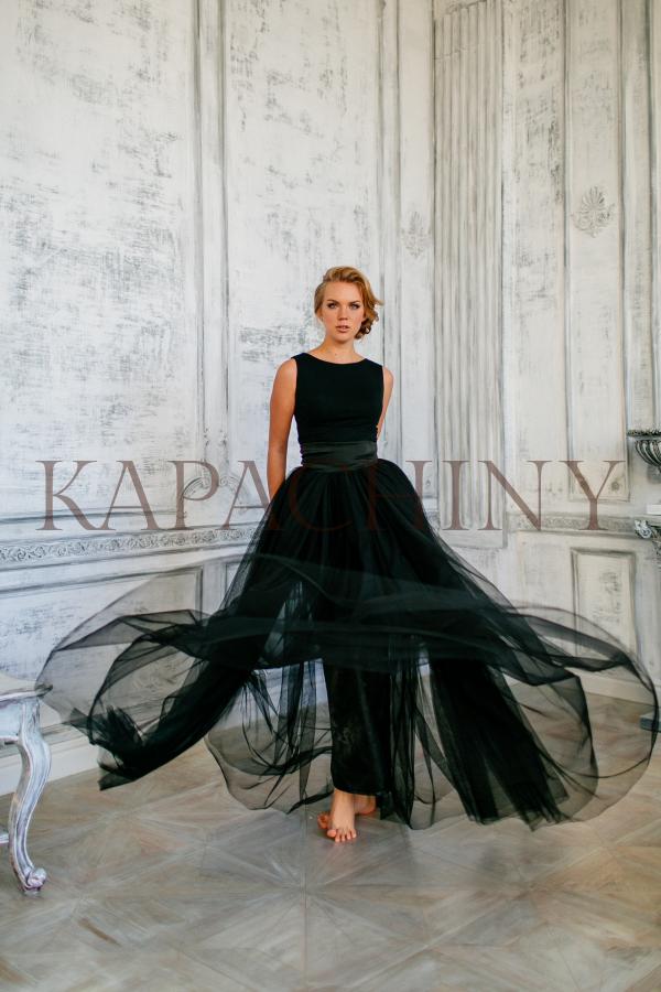 gabriel kapachiny dress eveningdress black