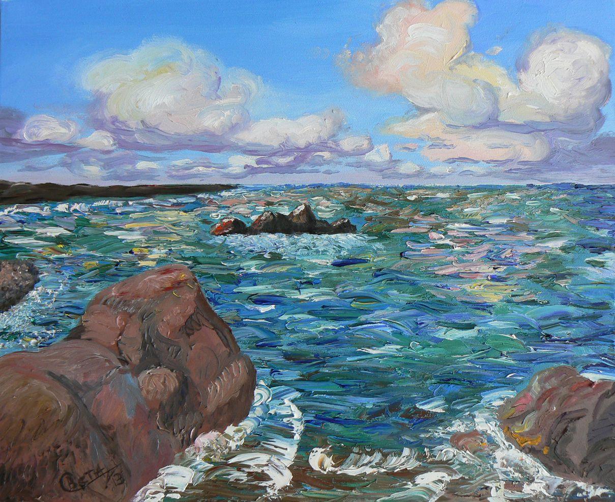 sea interior picture painting art