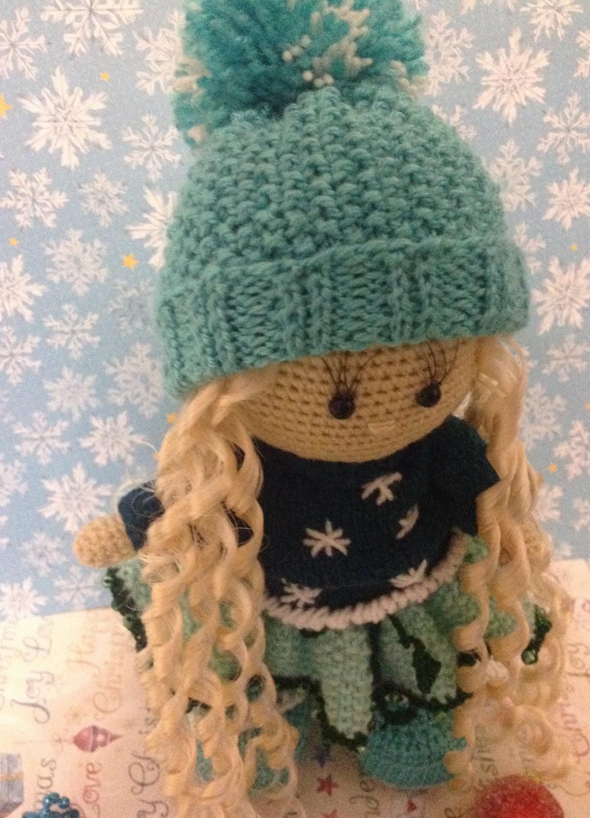 doll toy gift kids knitting