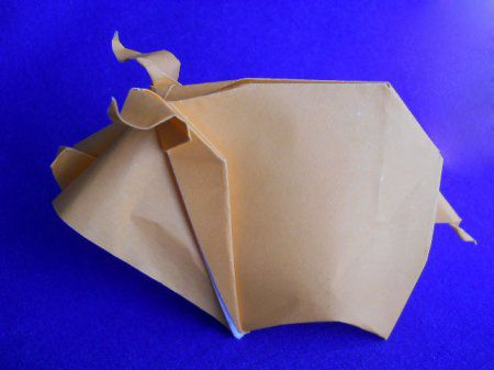 crafts pig origami paper make