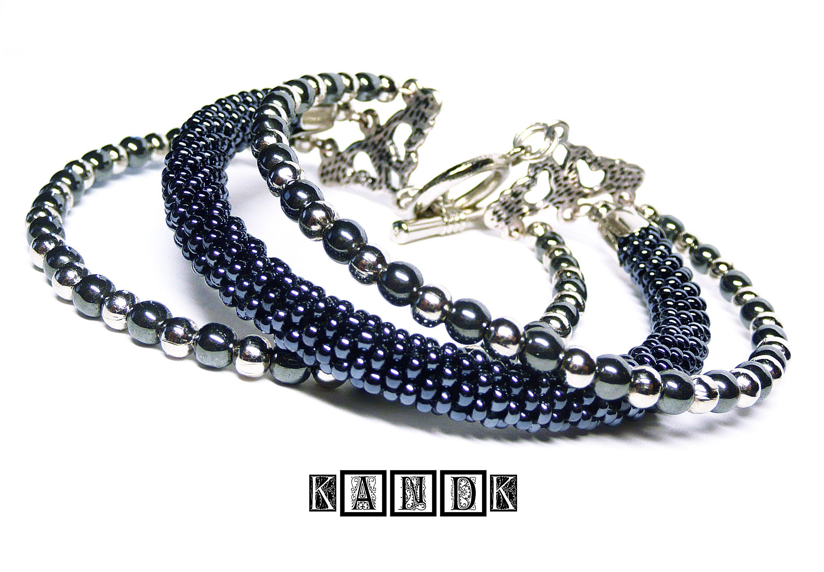 bracelet beads kandk czech