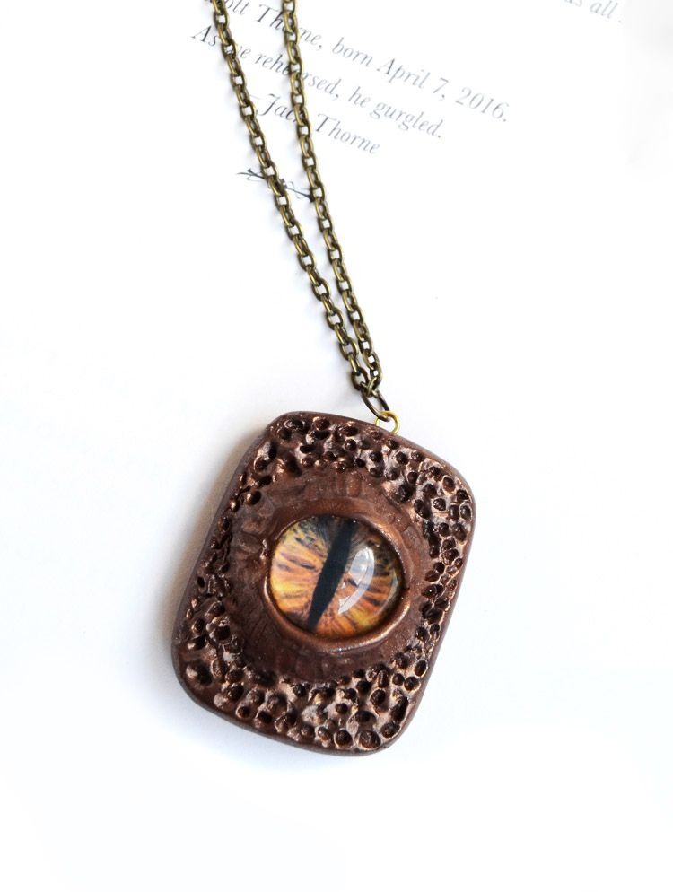 cabochons halloween clay necklace polymer