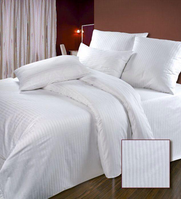 bed white interior linen queen
