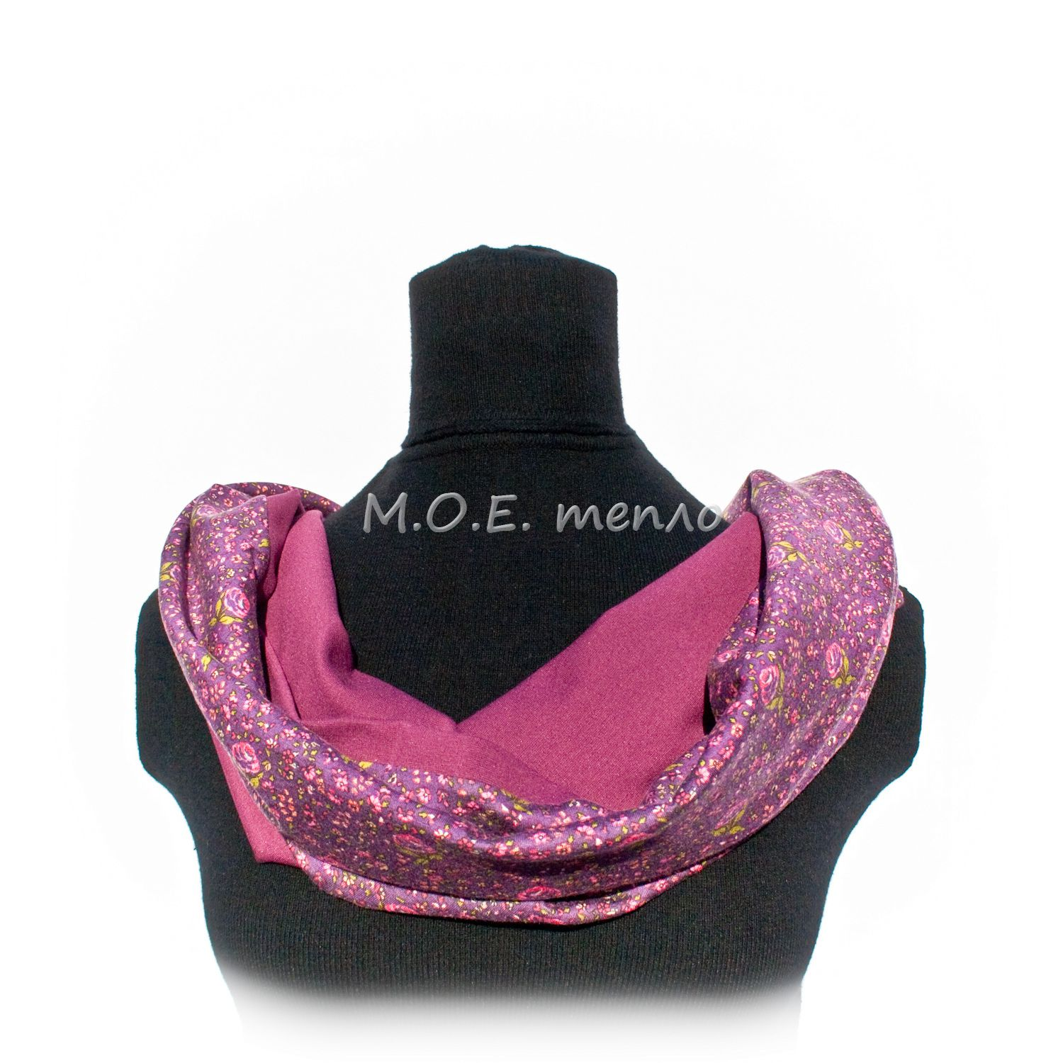 scarf accessories pink clothes cowberry neckwarmer