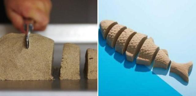 sand structure kinetic unusual make