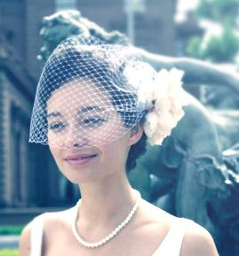 make stitching fascinator mesh hat