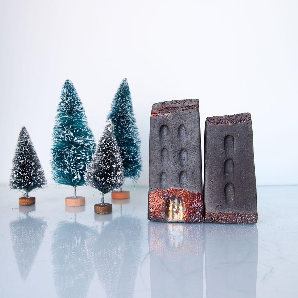 miniatures raku ceramicart