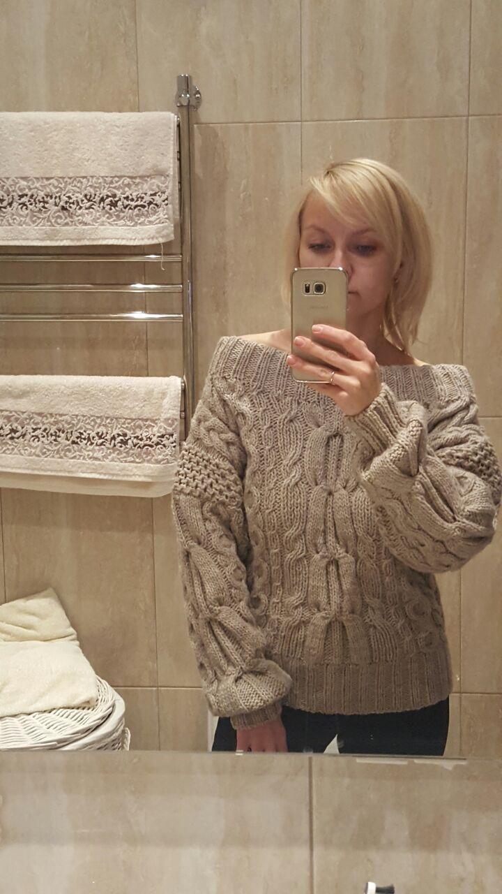 свитер заказ красивый женский на