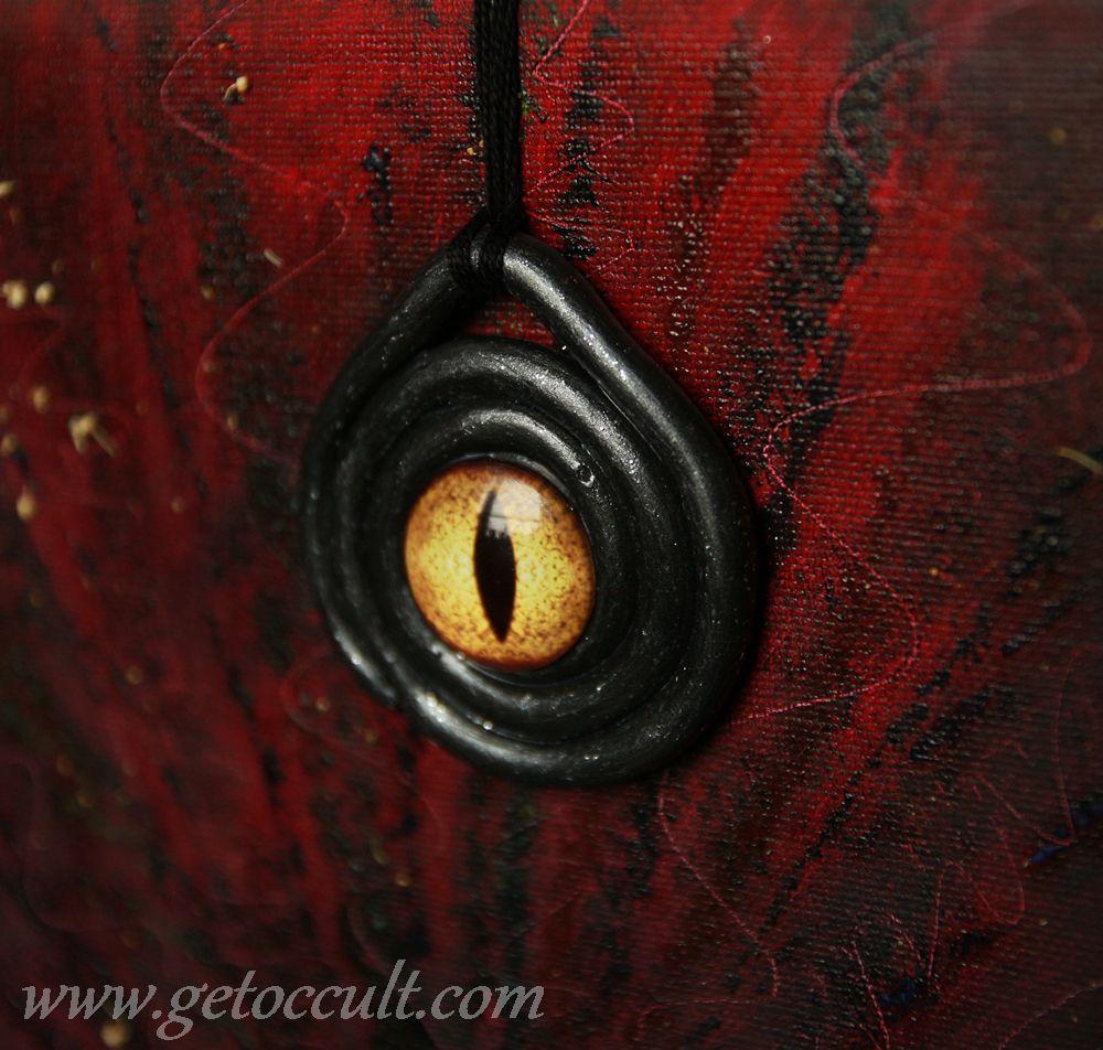 dragon wicca eye gemstones magic occult pagan