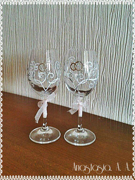 handmade wedding gift glass holiday