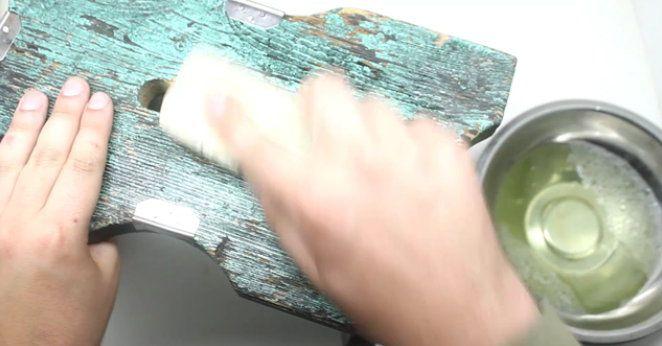 color furniture paint spray steps