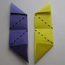 star ninja origami paper make